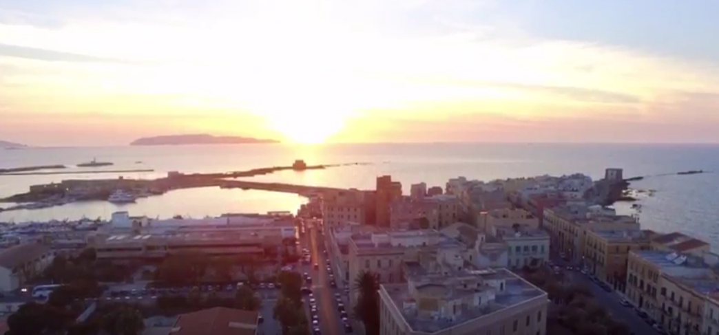 TRAPANI FROM THE SKY