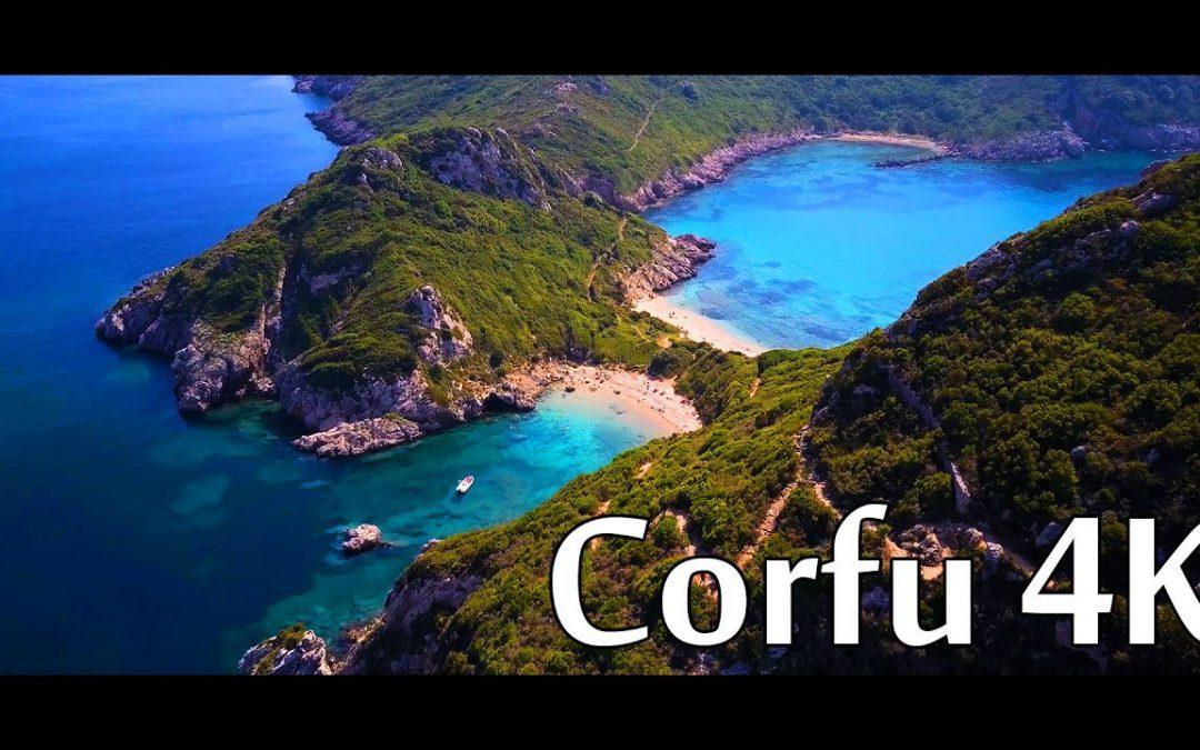 Corfu 4K – Greece – DJI Mavic Pro 4K Sample – Cinematic drone footage