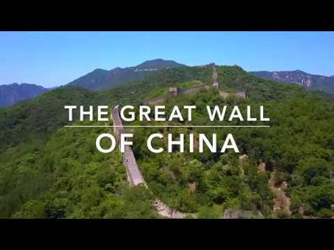 THE GREAT WALL OF CHINA DRONE FLIGHTS