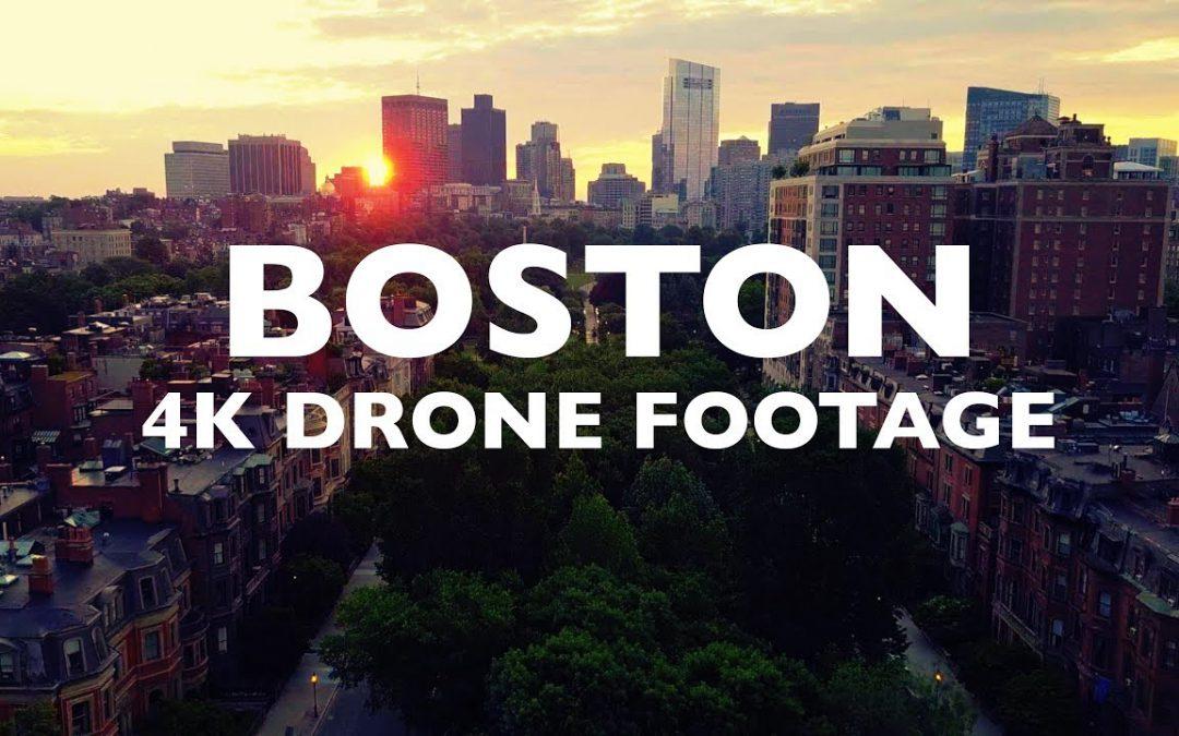 BOSTON FOOTAGE – DRONE 4K