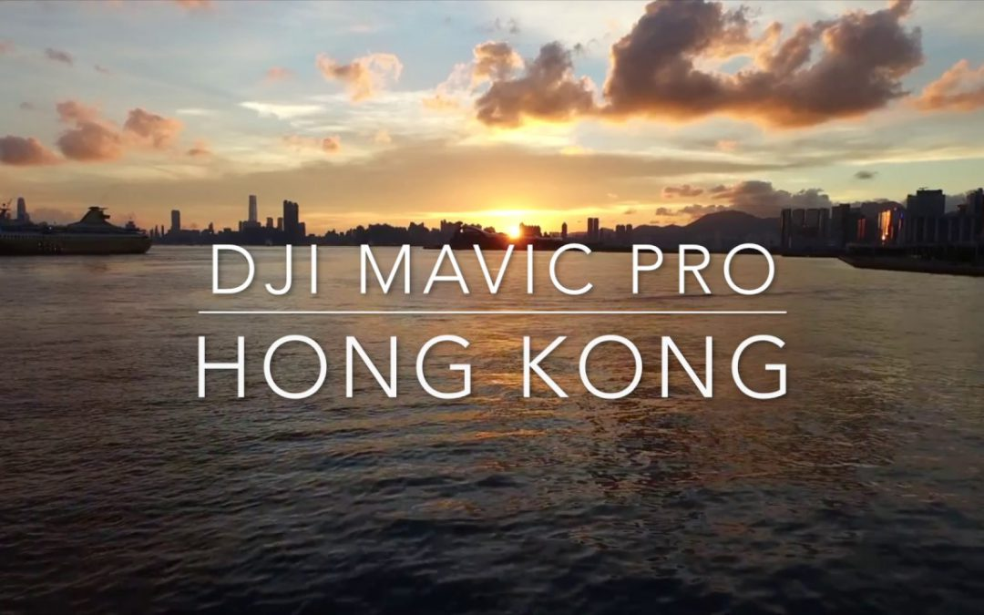 MAVIC PRO DRONE FLIGHTS OVER HONG KONG