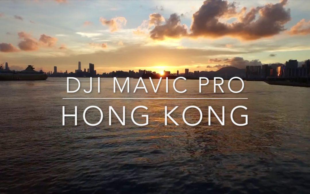 MAVIC PRO DRONE FLIGHTS OVER HONG KONG