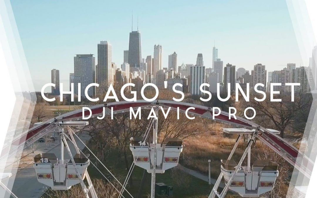 Chicago's Cinematic Sunset | DJI Mavic Drone