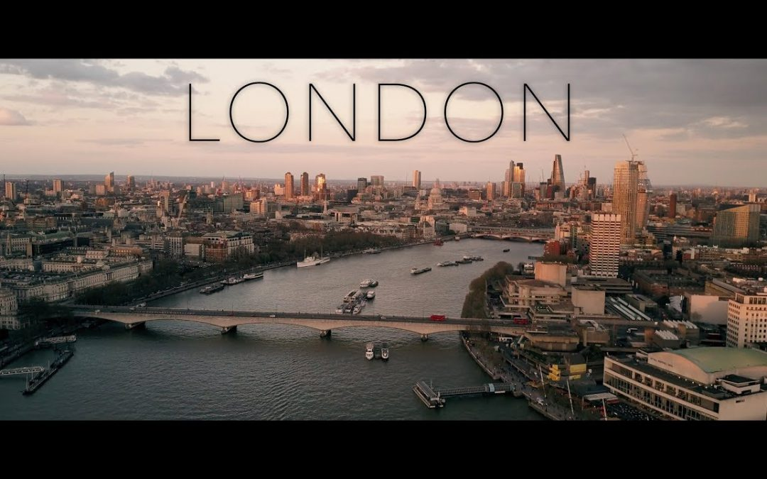 LONDON – DJI Mavic Pro 4K