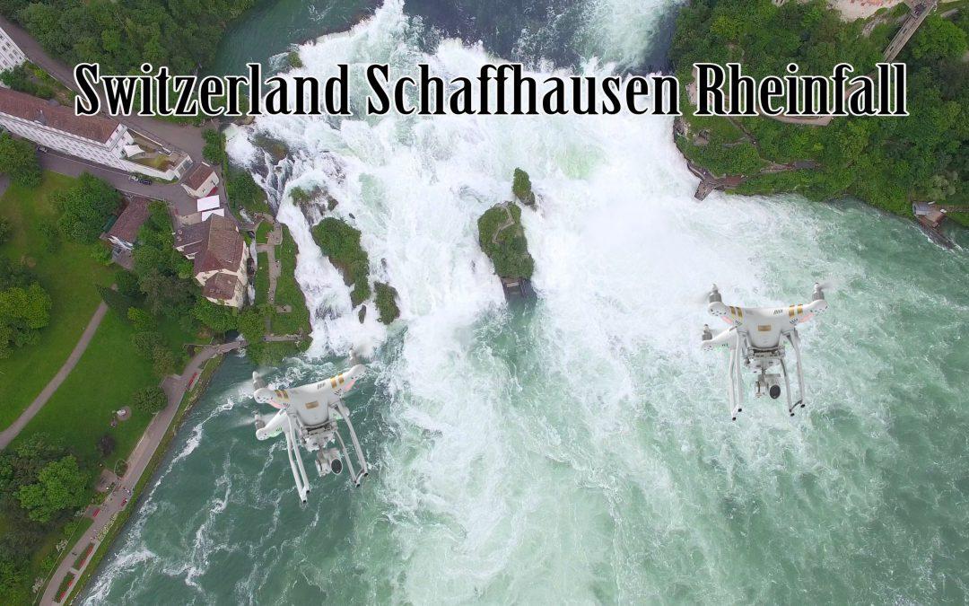 SCHAFFHAUSEN RHEINFALL 4K