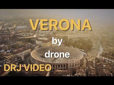 DRONE FLIGHT OVER VERONA