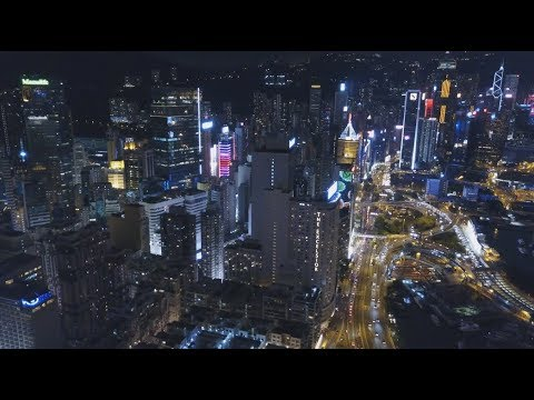 HONG KONG AT NIGHT !!!