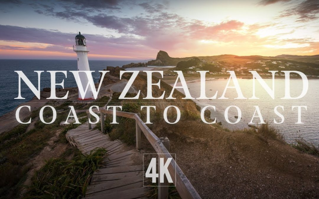 NEW ZELAND COASTLINE