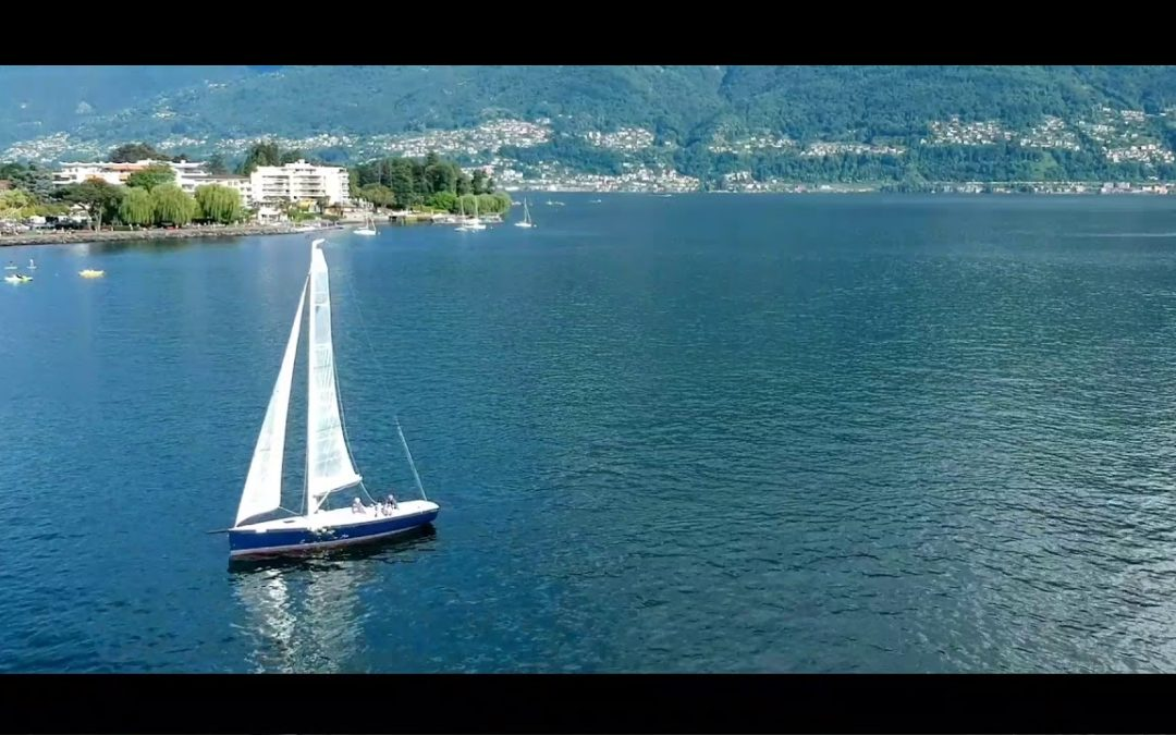 ASCONA WITH A DRONE