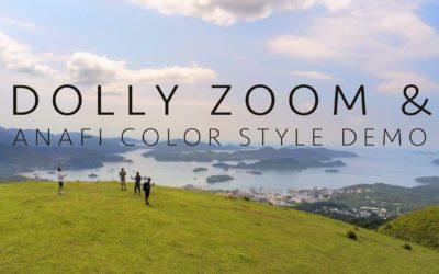 PARROT ANAFI – DOLLY ZOOM