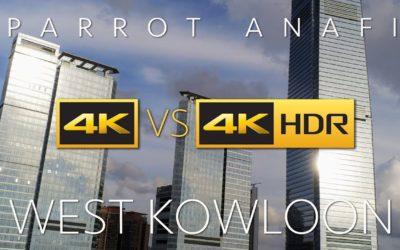PARROT ANAFI, SDR vs HDR