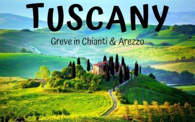 Greve in Chianti and Arezzo