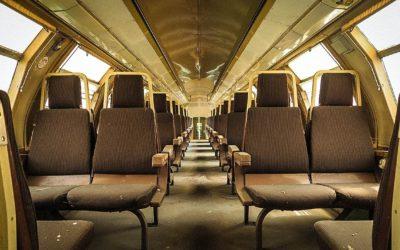 DEPOSIT OF ABANDONED TRAINS! (ITA)