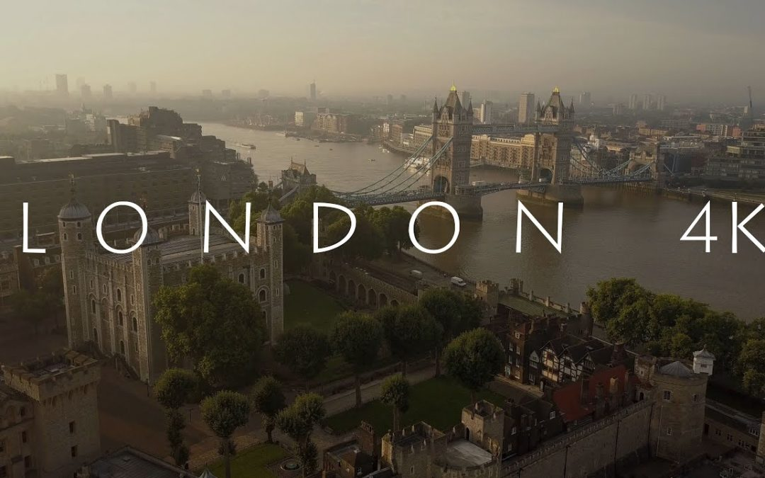 AN AERIAL TOUR OF LONDON